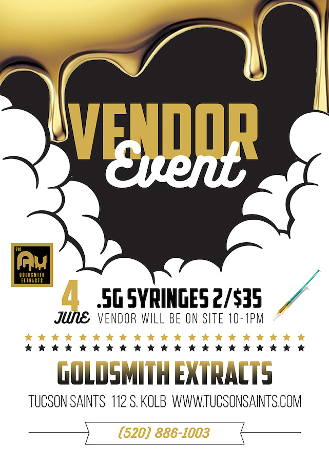 GoldSmith Extracts Flyer