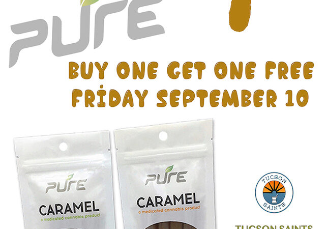 PURE Caramels edibles Flyer Suzy tracy