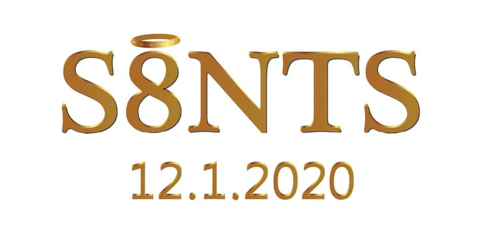 SAINTS 8 year anniversary artwork