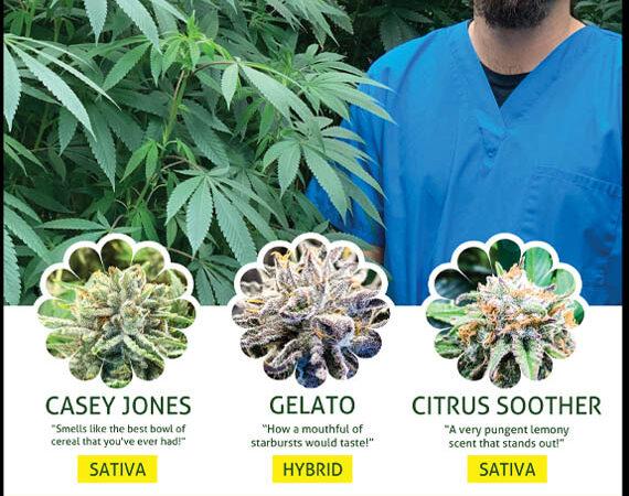 Natural Awakenings Magazine cannabis growers top strains