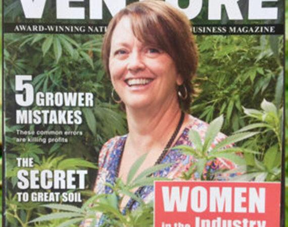 Suzy Tracy Photographer marijuana venture cover