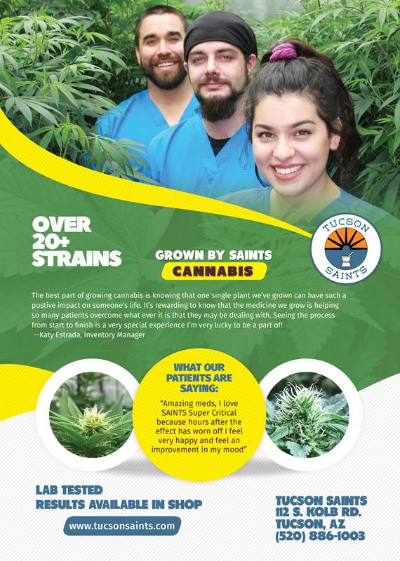 Natural Awakenings Magazine Spread Top 20 Strains
