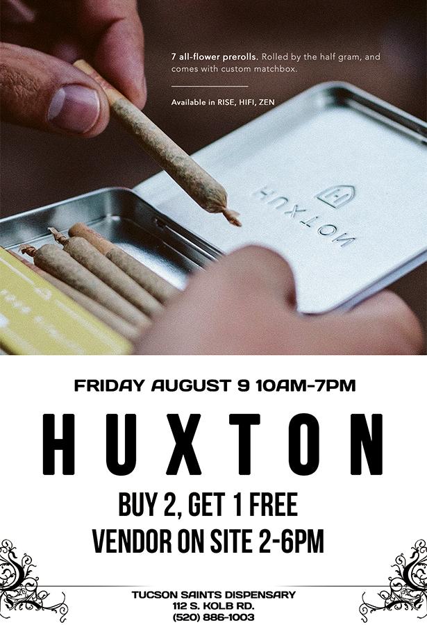 SAINTS Huxton Event
