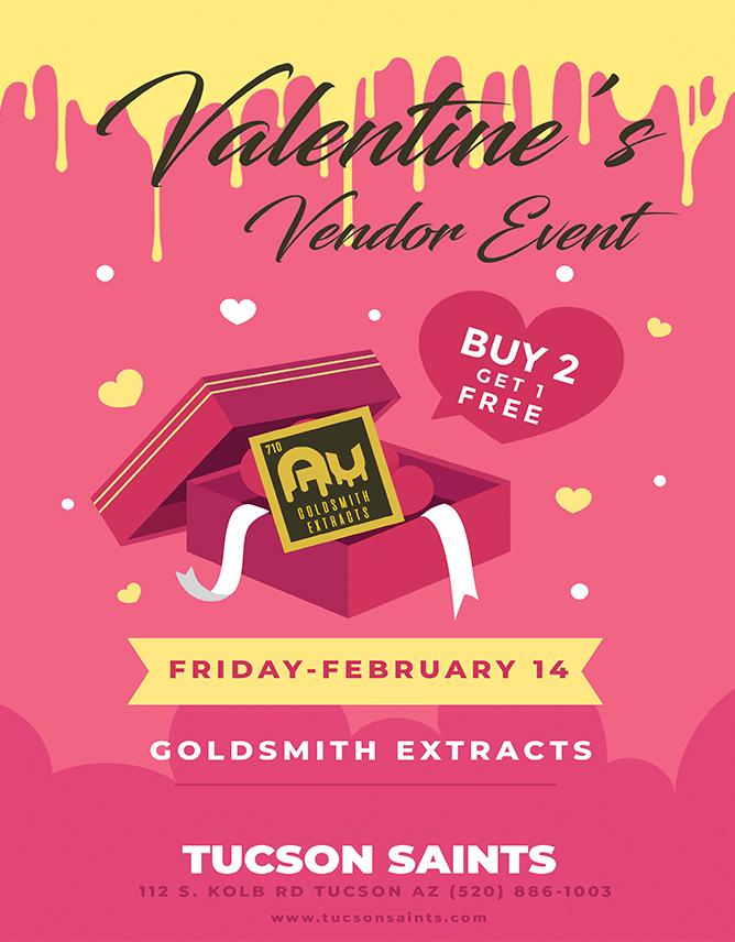 goldsmith extracts valentines event